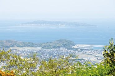 立花山山頂_新宮方面